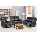 Reclining Couch And Loveseat Set