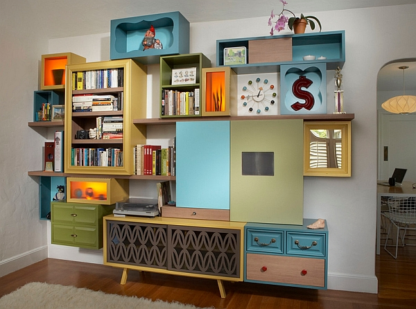 View in gallery A shelf like this could redefine the look of your entire  living space