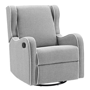 Rowe Upholstered Manual Swivel Glider Recliner