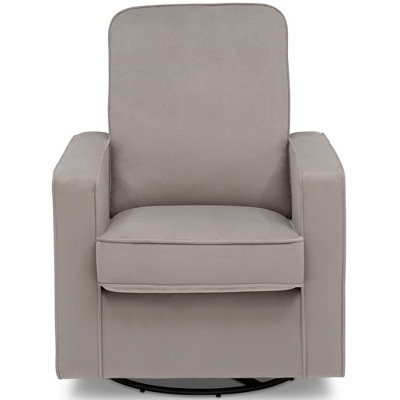 Delta Children Landry Nursery Glider Swivel Rocker Chair - Cloudy Gray