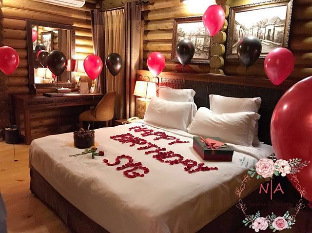Room decoration for birthday surprise ❤ #surpriseplannermelaka  #surpriseplannermuar #surpriseplannerledang #surpriseplannerjoho… | room  decor surprise