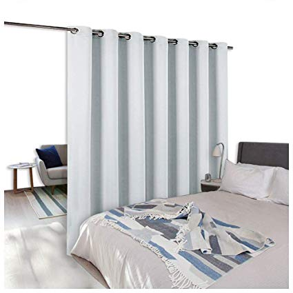 NICETOWN Room Dividers Curtains Screens Partitions, Function Thermal  Blackout Patio Door Curtain Panel, Sliding
