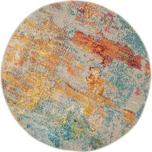 Shugart Sealife Multi-color Area Rug