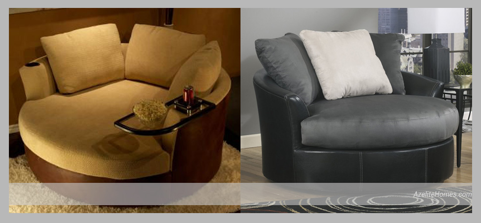 Round Loveseat Chair Pieces to Consider Getting for Your Living Room