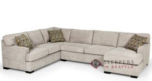 Stanton 146 U-Shape True Sectional Sleeper Sofa (Queen) in Bennett Moon