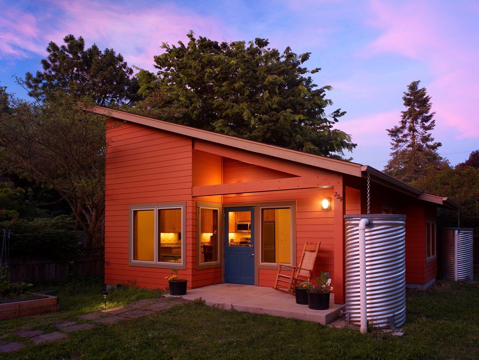 Rainbow Valley Design and Construction Krause Cottage