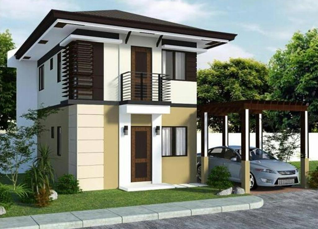 Give a beautiful look with small home design exterior