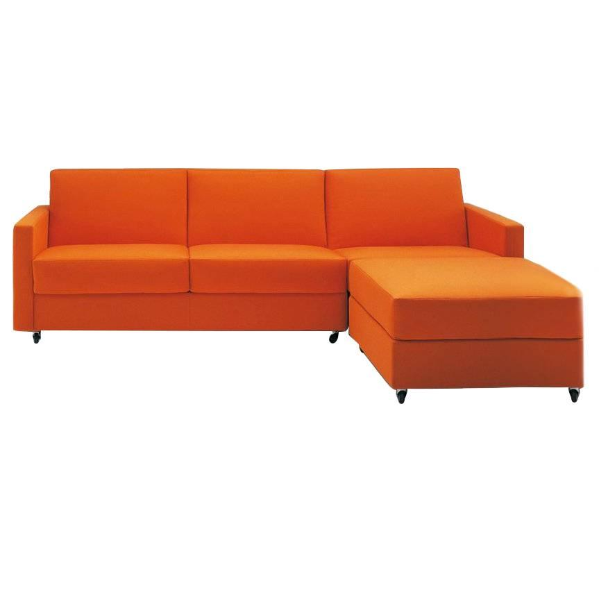 Modern Italian Sectional Sofa Beds with Storage, Fabric or Leather For Sale  at 1stdibs