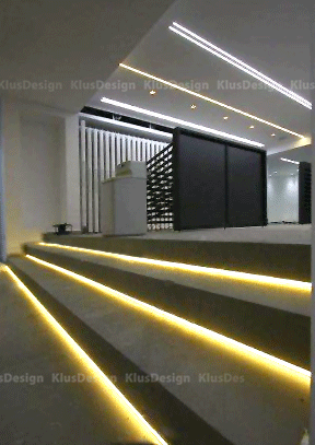 LED Stair Lights - KLUS Design