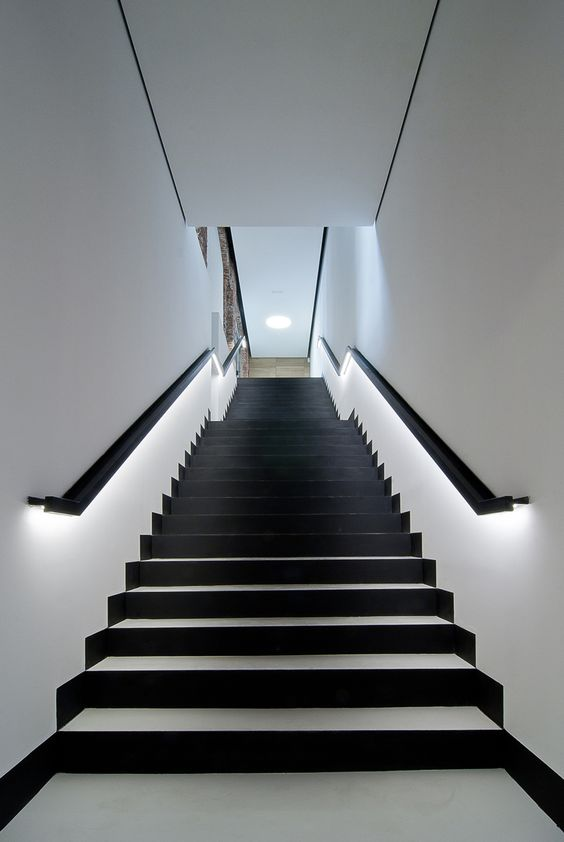 Stair Handrail Lighting - Photos Freezer and Stair Iyashix.Com