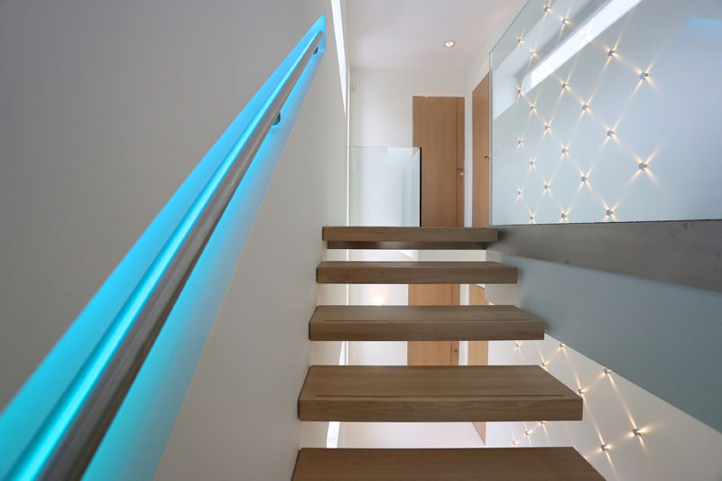 Stair Handrail Led Light - Photos Freezer and Stair Iyashix.Com