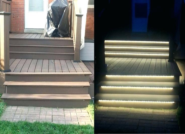 Low Voltage Led Step Lights Outdoor Deck Stair Lighting u2013 Fevcol
