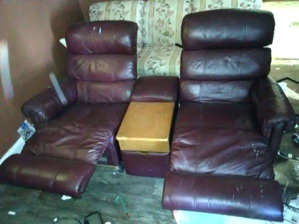 Small Recliners One Rip Super Comfortable Lazy Boy Recliner Compact Leather  A