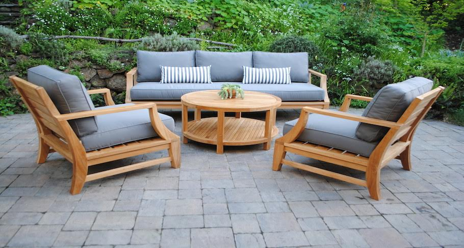 Deep Seating Teak Furniture Outdoor