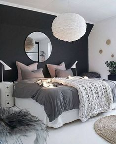 Teen Bedroom Interior Design Ideas and Color Scheme Ideas plus bedding and  Decor Gray Room Decor