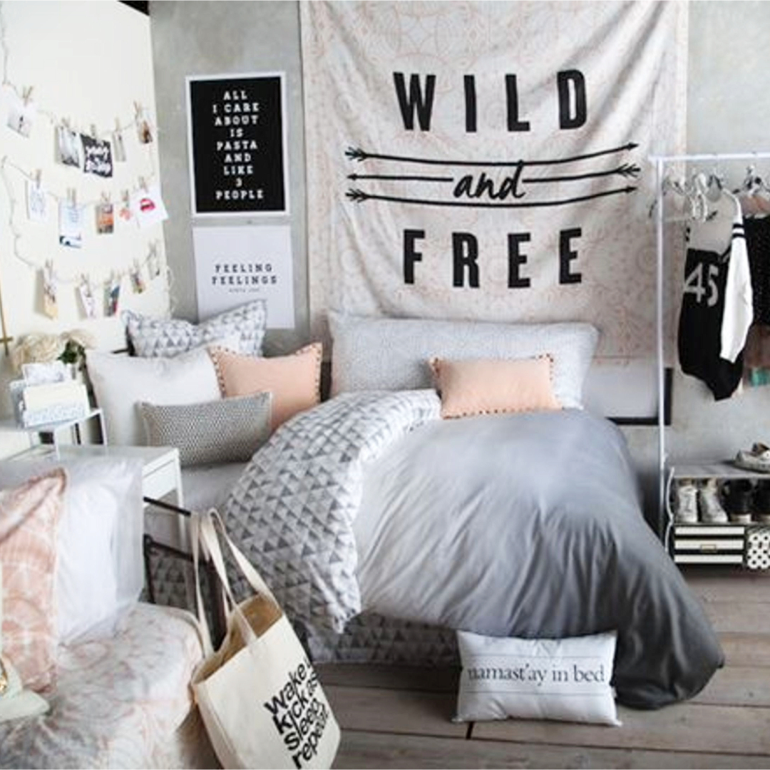 Teen Girl Bedroom Makeover and Decorating Ideas - Teenage Room Makeover on  a Budget - cheap