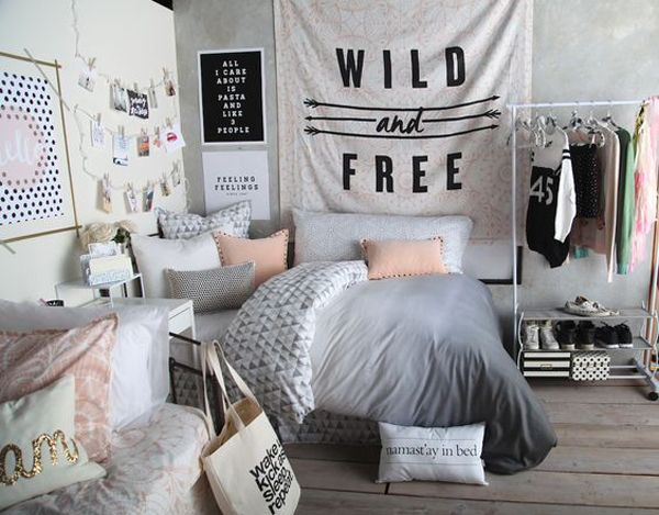 black and white bedroom ideas for teens | Posts related to Ten Black