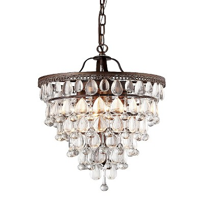 Warehouse Of Tiffany Chandelier Ceiling Lights -Bronze : Target