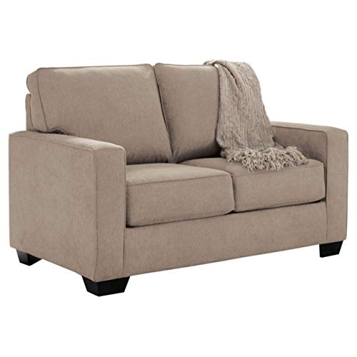 Ashley Furniture Signature Design - Zeb Contemporary Sleeper Sofa - Twin  Size Mattress Included - Quartz