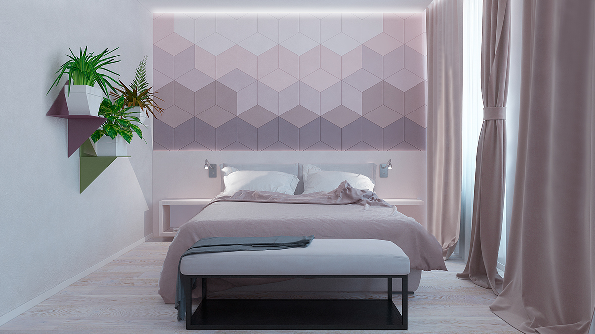 UNIQUE BEDROOM WALL DÉCOR