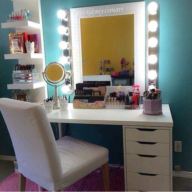 19 Best Makeup Vanity Ideas and Designs for 2019