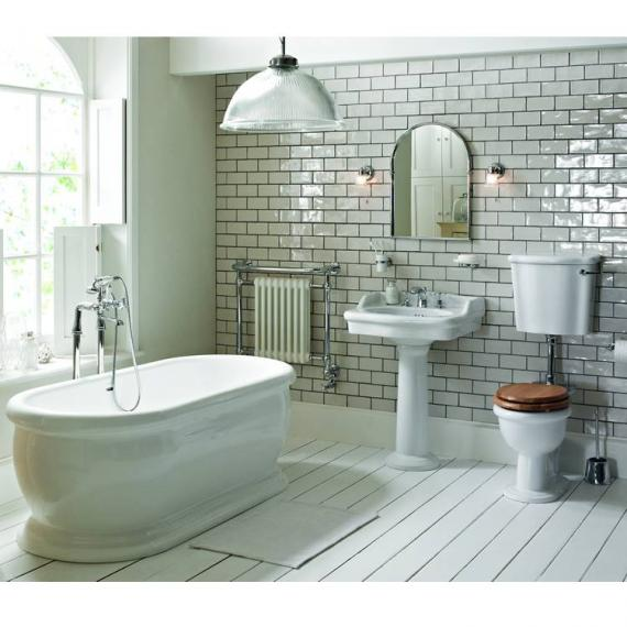 Heritage New Victoria Low Level Bathroom Suite