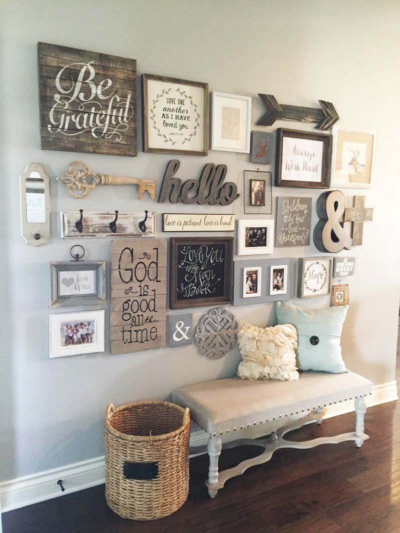 If so these 23 Rustic Farmhouse Decor Ideas will make your day! Check these  out!!!