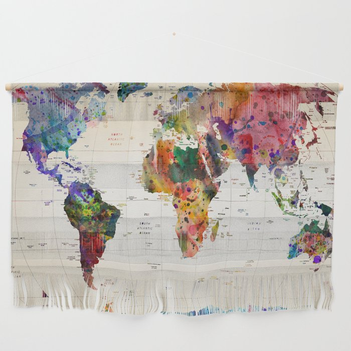 map Wall Hanging