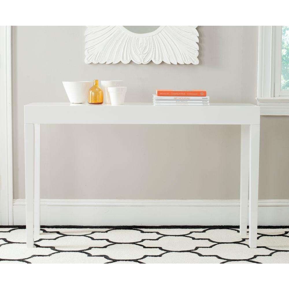 Safavieh Kayson White Console Table