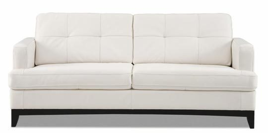 protecting white leather sofas