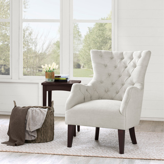 White Living Room Chairs photo - 1