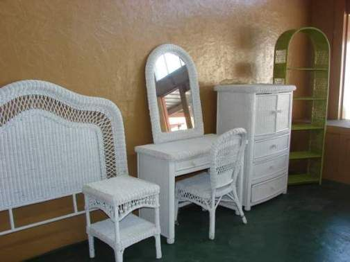 Exquisite Ideas White Wicker Bedroom Furniture Neoteric Wicker