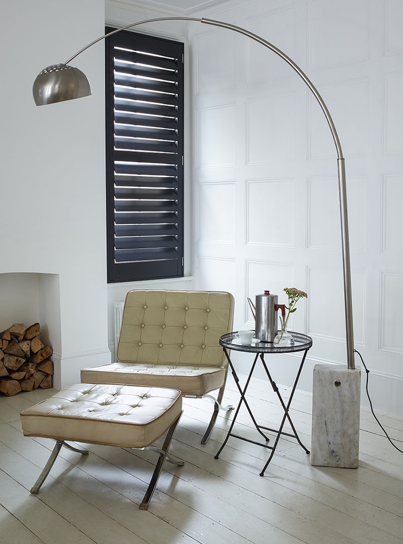 7 Contemporary Ideas For Window Coverings // Louvers are a combination of  shutters and Venetian