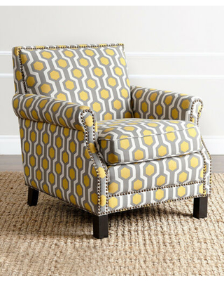 Yellow Chloe Club Chair