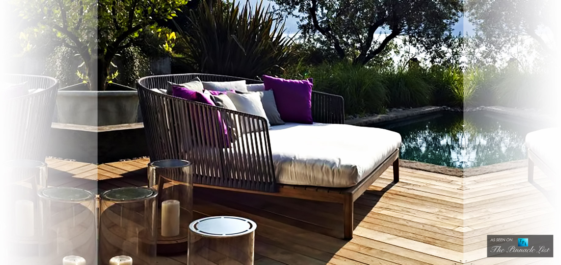 Garden Furniture Trends contemporary garden furniture living trends from europe for 2016 SQNBUZM