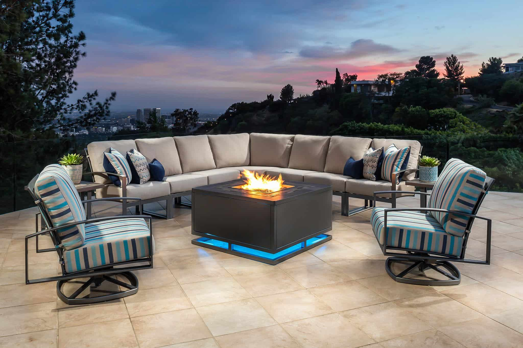 Garden Furniture Trends patio furniture trends that makes you want to take it outside VXMIIVT