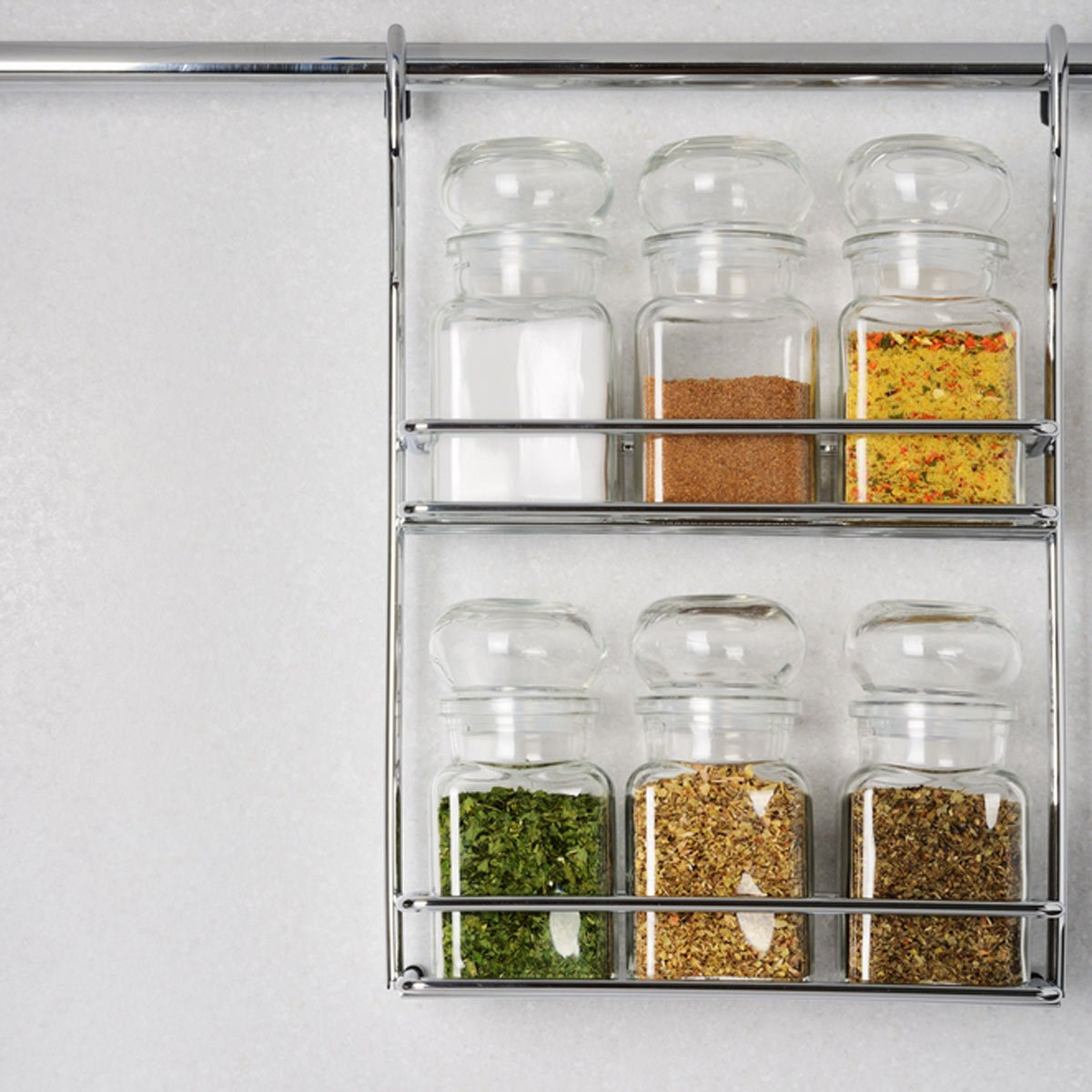 a hanging spice storage rack VQTHURY