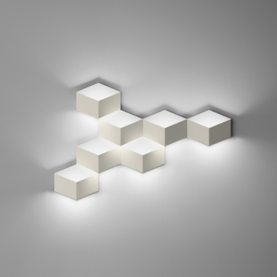 Wall Light in Designer Style, Trendy And Exquisite Seven Cubes