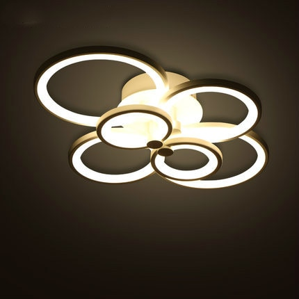 dimmable remote control living room bedroom modern led ceiling