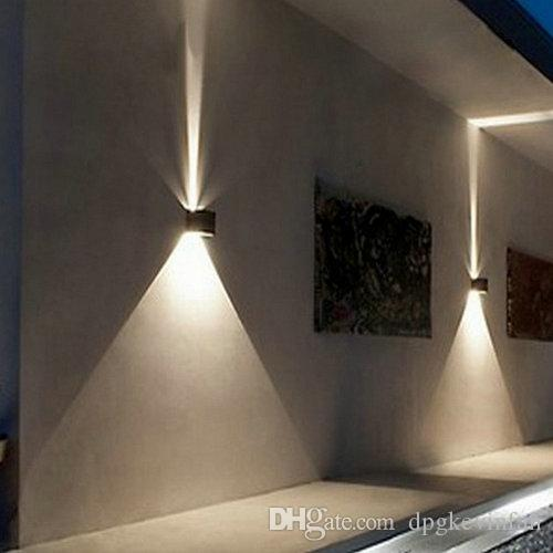Exterior Wall Lights Shining Stars Of Your House Facade