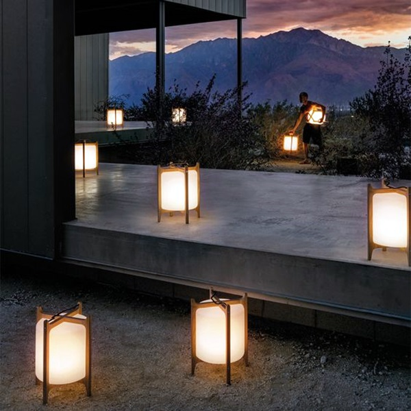 40 Terrace Light Decoration Ideas - Bored Art