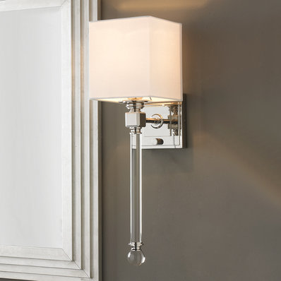 Crystal & Glass Wall Sconces - Shades of Light