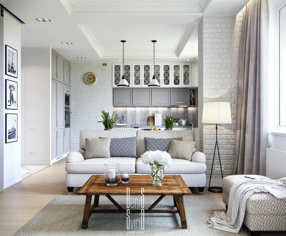 Apartment Interior Design 20 White Brick Wall Ideas To Change Your Room  Look Great Small