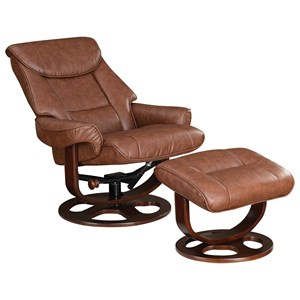Coaster Recliners with Ottomans Ergonomic Chair and Ottoman | Darvin  Furniture | Reclining Chair & Ottoman Sets