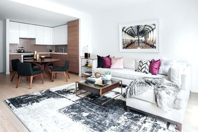 Round Area Rugs Choosing An For Open Floor Plan How To Choose The