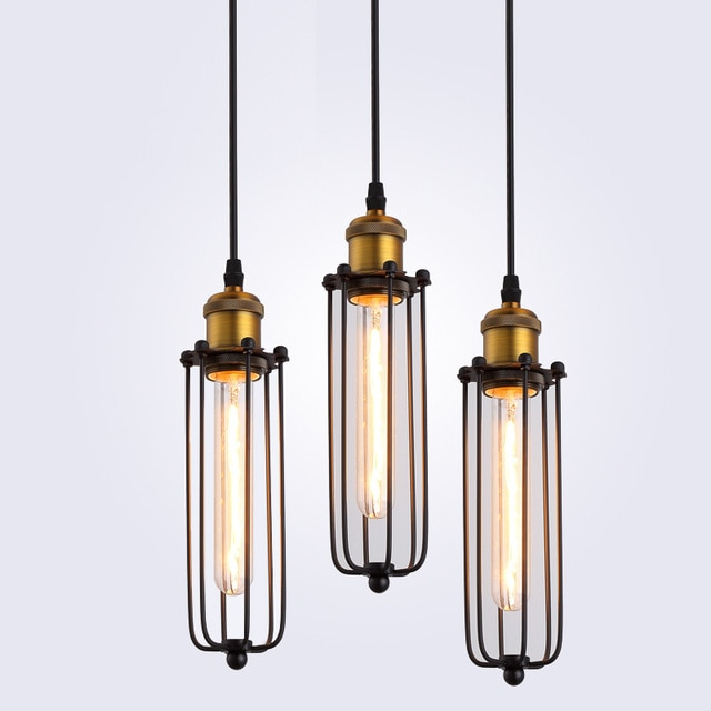 Retro RH Industrial Pendant Lamps for Warehouse/Bar a Gladiator