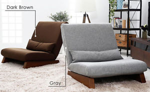 Image is loading Floor-Single-Seat-Sofa-Modern-Seat-Sofa-Bed-