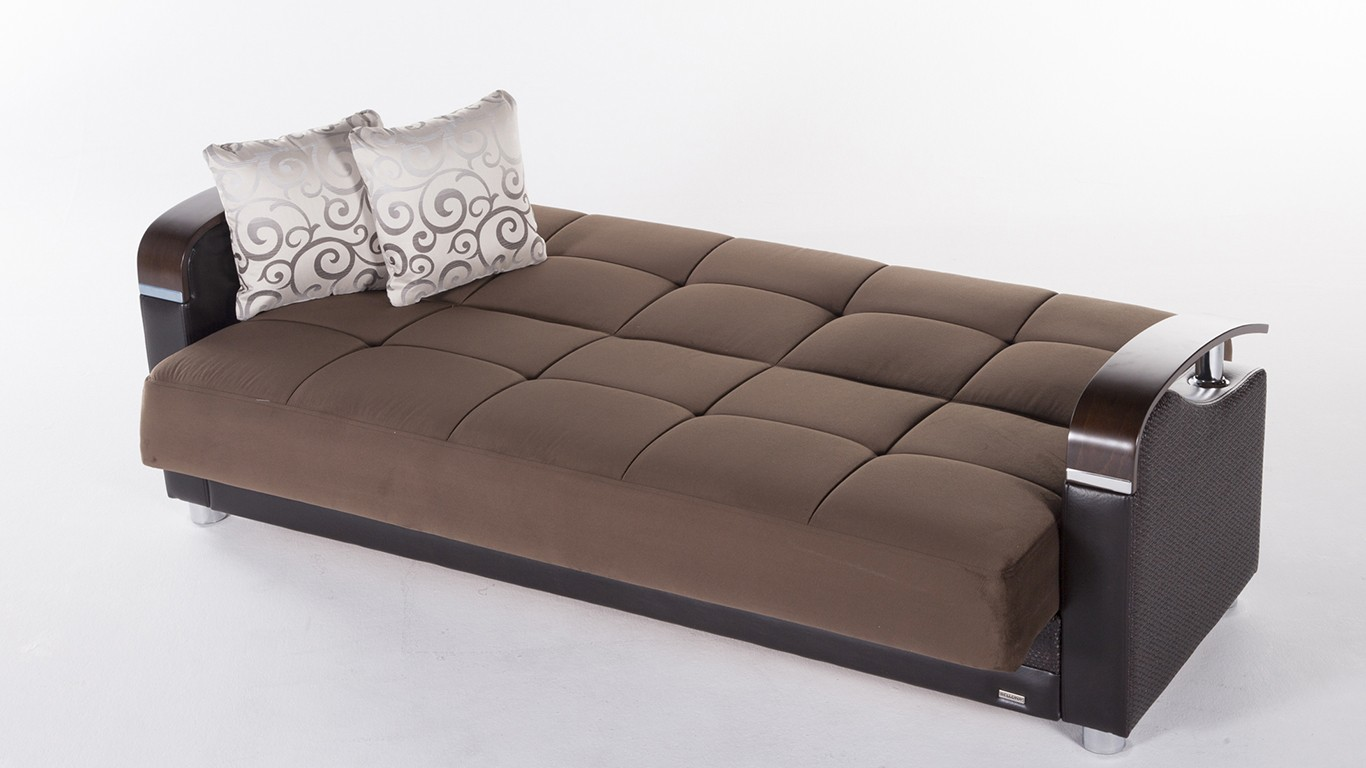 Decorating living rooms with sofa bed with storage